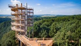 Stezka korunami stromů Saarschleife