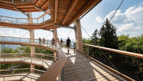 Salzkammergut, the First Austrian Treetop Walk