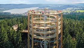 The first Czech Treetop Walk - Lipno